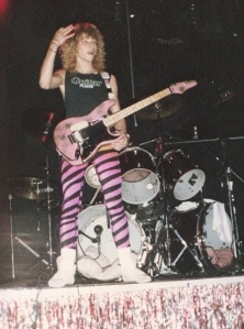 1988 - Playing at Animal House with Jaded Heart